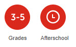 Grades 3-5 and Afterschool Icons